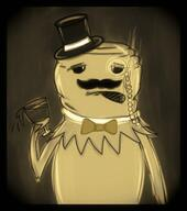 20s artist:pierdeer artist:piergaming bow cigar dapper doodle kermeat kermit monocle old_fashioned oldschool sepia streamer:vinny top_hat vintage wine wine_glass // 707x800 // 240.7KB
