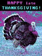 CGA artist:SeeGeeAyy streamer:joel streamer:vinny thanksgiving turkey // 483x647 // 30.8KB