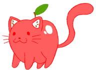 apple applecat artist:kazzikame cat cute streamer:vinny // 567x414 // 47.9KB