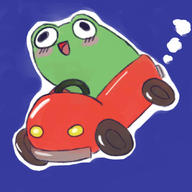 Frog_Car artist:Bunqueen game:mother_3 save_frog streamer:vinny // 1080x1080 // 89.7KB