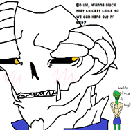 cricket game:kokonoe_kokoro insect_dating_sim skeleton skeletor streamer:joel // 541x530 // 21.9KB