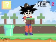 artist:Kfray game:dragon_quest_builders_2 game:minecraft game:super_mario_maker_2 goku streamer:vinny // 1333x1000 // 480.9KB