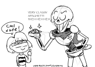 artist:rsdream12 game:undertale papyrus streamer:joel undertale_spoilers // 1601x1134 // 5.2MB