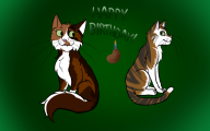 artist:sularueve birthday cats streamer:darren // 800x500 // 170.9KB