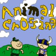 artist:pixpal corruptions game:animal_crossing streamer:vinny // 1024x1024 // 15.1KB