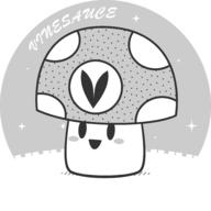 artist:lasagnaman cute streamer:vinny vineshroom // 1949x1949 // 275.4KB