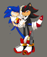 artist:frandlle game:shadow_the_hedgehog shadow_the_hedgehog sonic streamer:imakuni // 1164x1423 // 617.4KB
