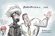 artist:dullvivid game:metal_gear_rising_revengeance memes monsoon nanomachines_son raiden senator_armstrong streamer:vinny // 1023x668 // 94.7KB
