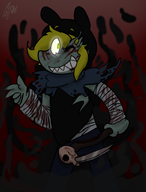 artist:daxerdoodle game:dead_by_daylight streamer:imakuni wraith // 1676x2200 // 1.1MB