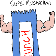 artist:qeb crunch_bar muscles punch_out punch_out_marathon streamer:hootey // 1000x1000 // 193.5KB