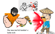 artist:slickslacker game:mario_paint mortal_kombat streamer:joel // 1600x1000 // 1.0MB