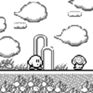 animated animation artist:shugarshock game:kirby's_dream_land_3 kirby wip // 100x100 // 23.5KB