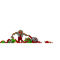 animated doomguy game:doom pixel_art streamer:joel // 720x720 // 506.5KB