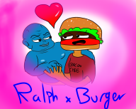 artist:blankfaece burger game:tomodachi_life ralph_bluetawn streamer:vinny // 1280x1024 // 566.0KB