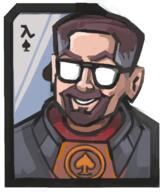 artist:DragonChronicler card game:half-life gordon_freeman streamer:joel // 572x669 // 242.5KB