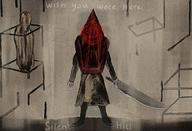 artist:CathemeralCoder game:silent_hill_2 pyramid_head streamer:vinny // 2404x1646 // 3.1MB