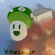 artist:otherthatguy explosion game:clustertruck streamer:vinny vineshroom // 1600x1600 // 1.3MB