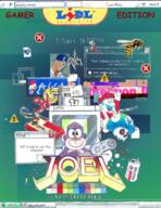 agga artist:AMine bonzibuddy grand_dad memes mspaint mug poster streamer:joel windows_destruction // 1511x1958 // 3.7MB