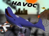 apple_dave artist:crymsonwrench city crash fire game:grand_theft_auto_v plane smoke taxi whale // 1000x750 // 781.9KB