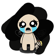 artist:multigaminggal game:binding_of_isaac isaac streamer:vinny // 1266x1269 // 206.5KB