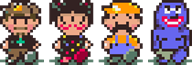 artist:quine game:earthbound ralph_bluetawn sponge two_faced // 280x96 // 2.5KB