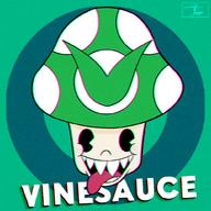 Game:Cuphead artist:JKMuse streamer:vinny vineshroom // 1000x1000 // 1.6MB