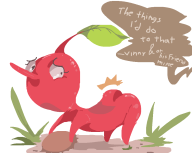 artist:shameless game:pikmin // 1000x800 // 27.3KB