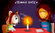 date game:undertale streamer:joel temmie // 741x454 // 227.0KB