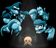 artist:caffeinated_sloth game:binding_of_isaac game:tomodachi_life isaac streamer:vinny // 2365x2016 // 1.6MB