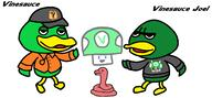 artist:crazymariofan123 duck game:animal_crossing streamer:joel streamer:vinny // 1350x629 // 76.6KB