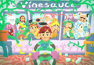 alpaca artist:baban clingon game:miitopia gordon_ramsay hotel_mario jahn jesus mike_love scoot speed_luigi sponge streamer:vinny two_face // 950x658 // 1.0MB