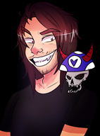 bone_zone skull streamer:joel vargshroom vinesauce // 1280x1724 // 844.9KB
