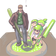 artist:stinkbug game:splatoon streamer:vinny // 1000x1000 // 360.8KB