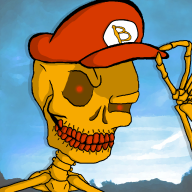 artist:provenbeat boner bones game:super_bone_bros skeleton streamer:joel // 800x800 // 328.7KB