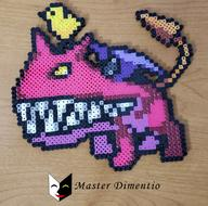 Tag:Perler_Beads artist:masterdimentio game:mother_3 streamer:vinny ultimate_chimera // 1142x1128 // 1.6MB