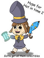 artist:eat-pant game:a_hat_in_time hat_kid streamer:vinny // 1021x1334 // 174.8KB