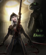 artist:amoralcrow game:bloodborne lady_maria streamer:vinny // 845x1000 // 352.6KB