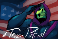 america artist:fault flag skeletor streamer:joel vinewrestle wrestling // 647x436 // 206.1KB
