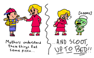 artist:marchingbro16 game:animal_crossing game:earthbound ness scoot streamer:vinny // 1600x997 // 345.1KB