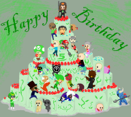 5th_anniversary anniversary birthday cake memes stream streamer:vinny streaming vinesauce // 660x594 // 201.3KB