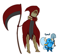 artist:spoopydood game:shovel_knight shovel_knight smol specter_knight streamer:vinny // 1600x1500 // 113.5KB