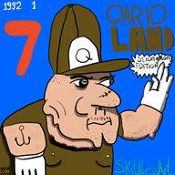 mario_paint qario streamer:joel strongman // 1000x1000 // 416.7KB