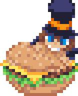 artist:onule game:a_hat_in_time hamburger hat_kid pixel streamer:imakuni // 156x192 // 3.1KB