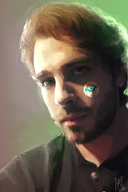artist:captainspook drawing painting portrait streamer:vinny vinesauce // 1280x1920 // 371.0KB