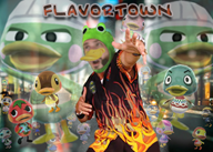 Vine_Fieri artist:bremorrill drake duck game:animal_crossing guy_fieri ketchup molly scoot streamer:vinny // 2100x1500 // 4.5MB