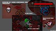 artist:kayoken blood_bagel mod ralph_bluetawn speed_luigi streamer:vinny the_binding_of_isaac // 1308x727 // 587.8KB