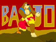 artist:animeapproved game:banjo-kazooie game:doom streamer:vinny // 800x600 // 131.7KB