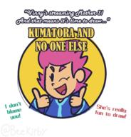 artist:thingybobinc game:mother_3 kumatora streamer:vinny // 545x568 // 64.6KB