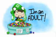 artist:8bitbeetle ball_pit game:megaman_sprite_game game:splatoon scoot streamer:vinny vinesauce // 1142x764 // 208.5KB