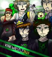 artist:scarletnoise fren game:vinewrestle giant_rat jerma johnny_zest marcianito streamer:joel streamer:revscarecrow streamer:vinny tongo vinesauce_is_hope_2020 vinewrestle // 1092x1200 // 1.9MB